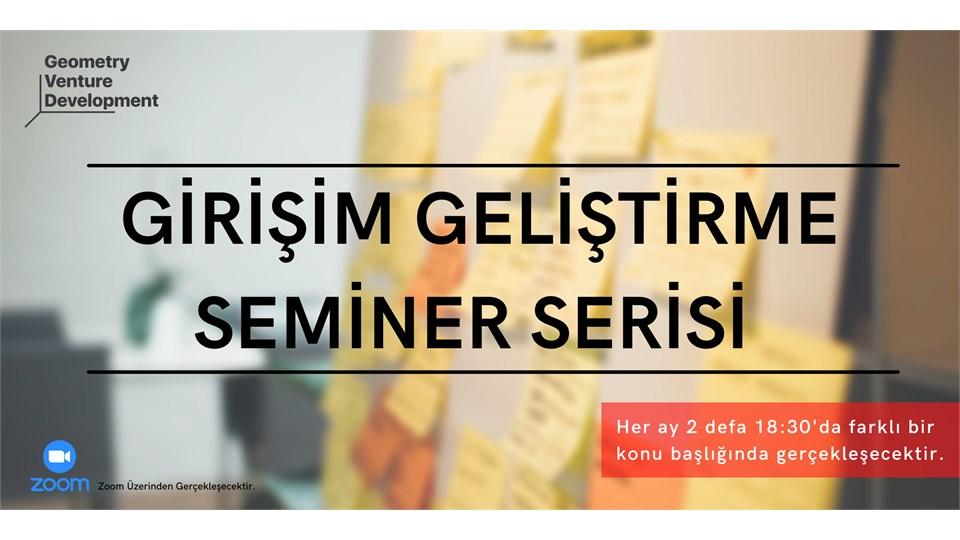 Girişim Geliştirme Seminer Serisi #55 | Risk Yönetimi
