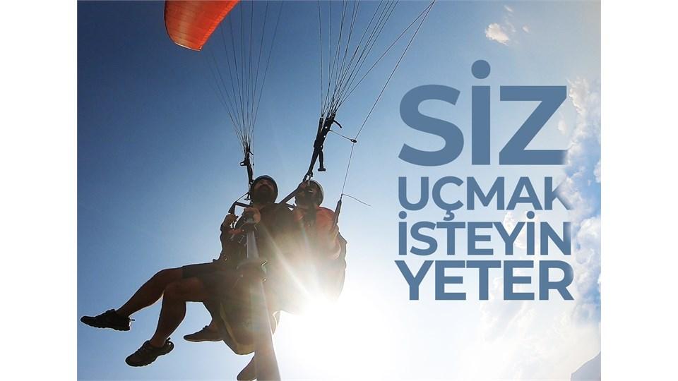Kayseri Ali Dağ Yamaç Paraşütü Tandem Uçuş Bileti