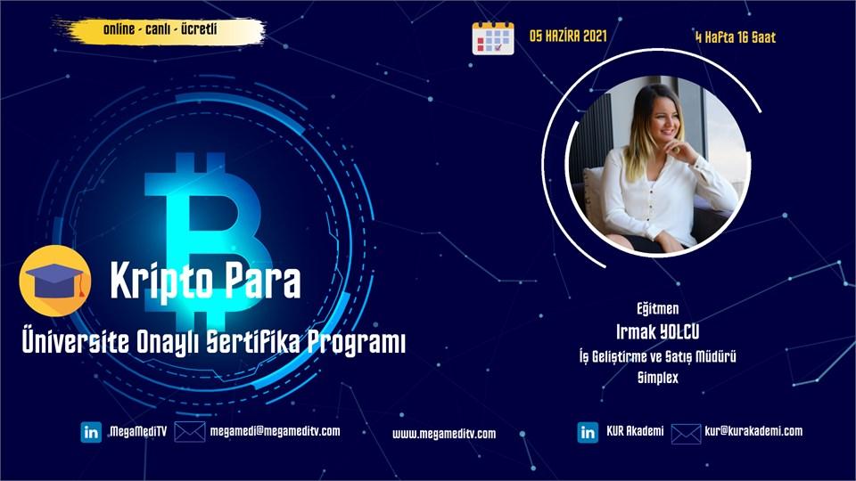 Kripto Para Üniversite Onaylı Sertifika Programı Eğitimi (Ücretli)