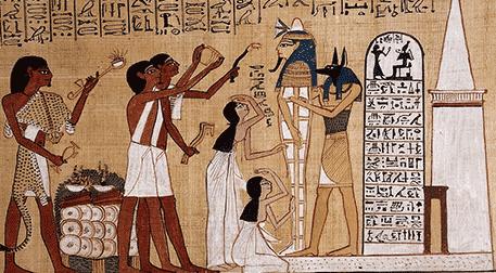 Mısır'da Piramitler, Tanrılar, Din