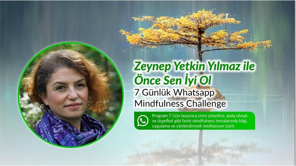 ÖNCE SEN İYİ OL MINDFULNESS CHALLENGE