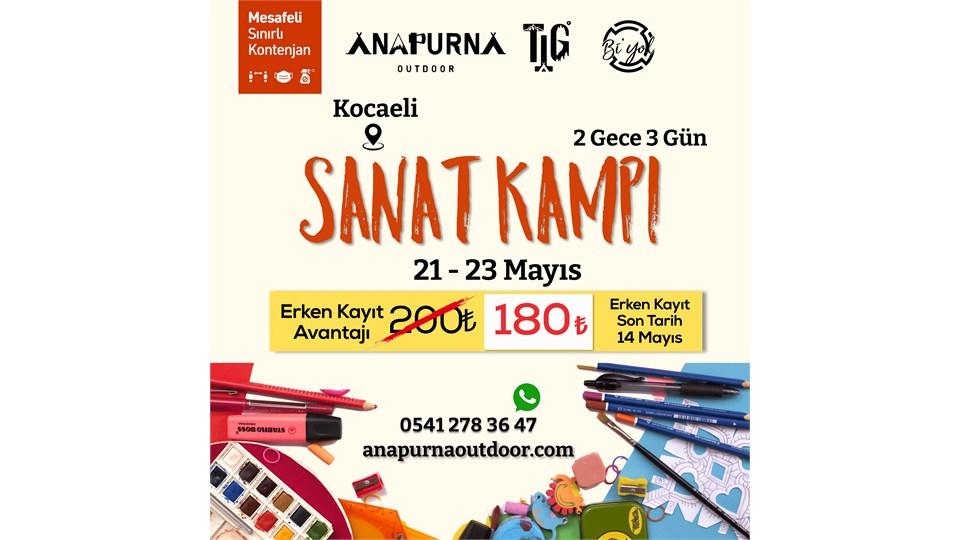 Sanat Kampı | Kocaeli | 21-23 Mayıs