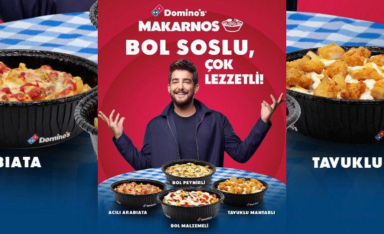 Domino's'tan Bol Soslu ve Çok Lezzetli Makarnos!