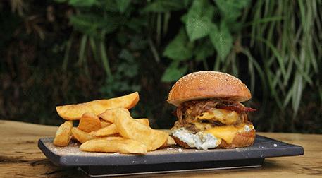 Bir Isırıkta Hamburger