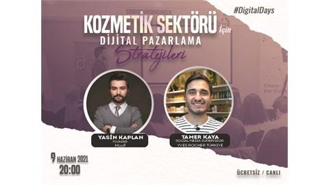 DigitalDays Online-Ücretsiz: Kozmetik Sektörü İçin Dijital Pazarlama Stratejileri