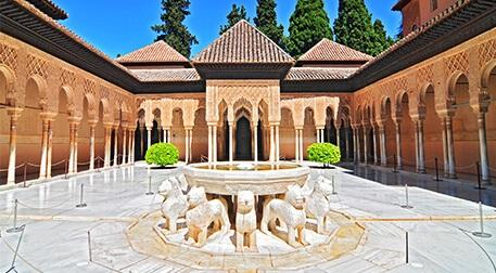 El Hamra Sarayı Sanal Gezisi