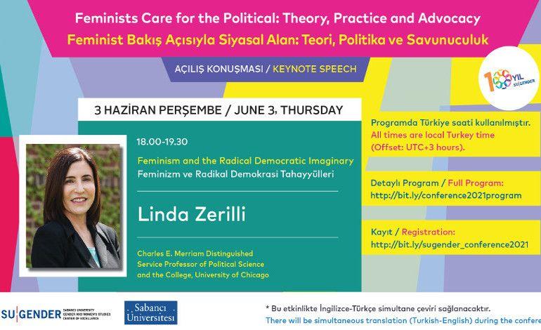 Feminist Bakış Açısıyla Siyasal Alan: Teori, Politika Ve Savunuculuk Konferansı
