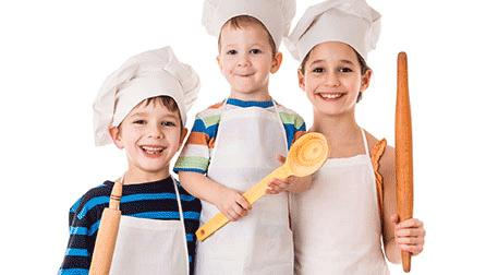 Minik Şefler Mutfakta 'Çoluk Çocuk