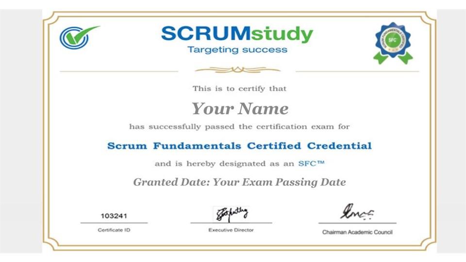 Ücretsiz İngilizce Temel Scrum (SFC ™) Webinar, Eğitim ve Sertifikasyonu