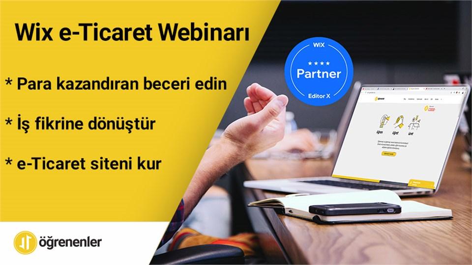 Wix e-Ticaret Webinarı