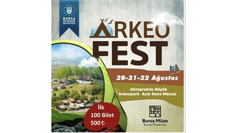 BURSA ARKEOFEST 20-21-22 AĞUSTOS