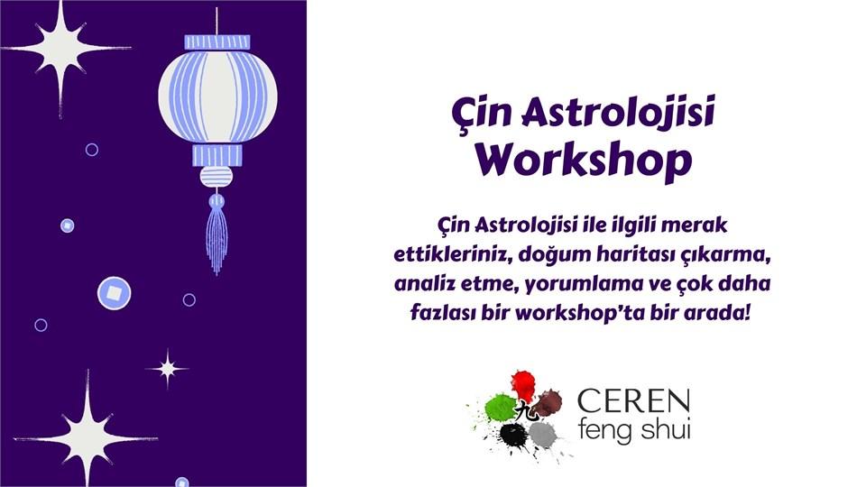 Çin Astrolojisi Workshop
