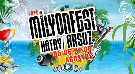 MilyonFest Arsuz Perşembe
