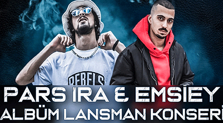 Pars Ira & Emsiey Albüm Lansman Kon