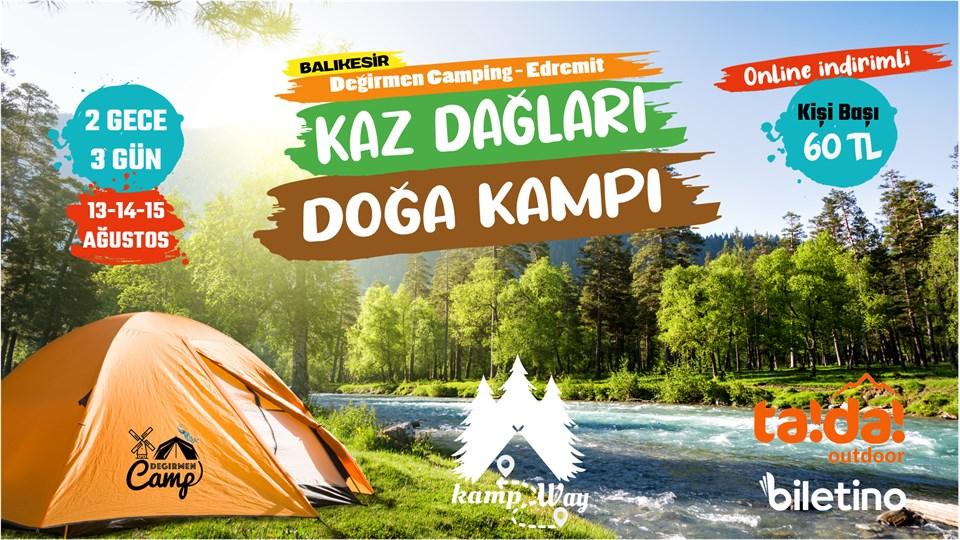 Kaz Dağları - Doğa Kampı   KampWay