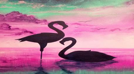 Resim Workshop - Flamingolar