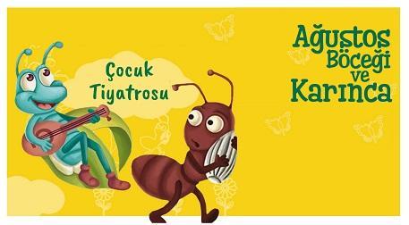 Ağustos Böceği ile Karıncanın