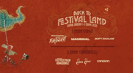 Back To Festival Land - 1. Gün