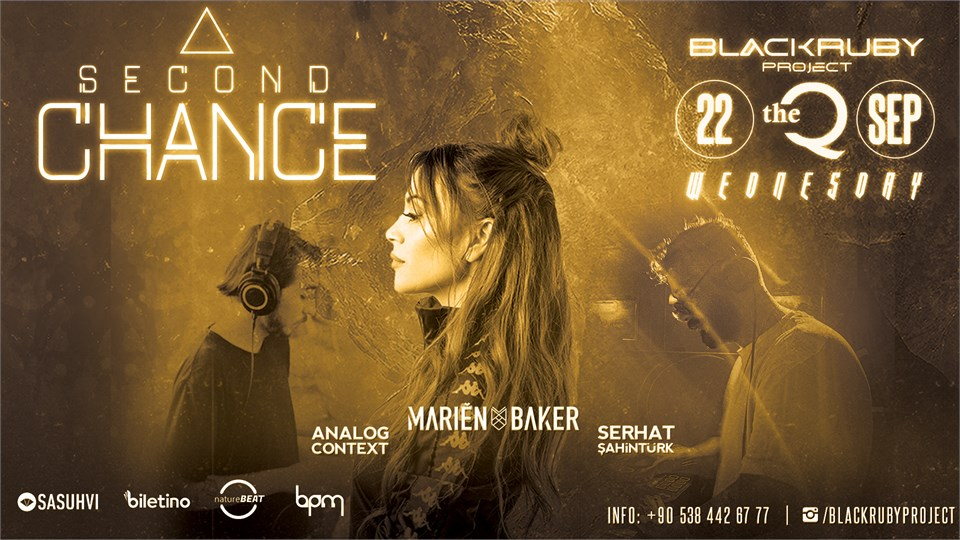 Black Ruby Project Presents; Second Chance #2 (Marien Baker, Analog Context, Serhat Şahintürk)