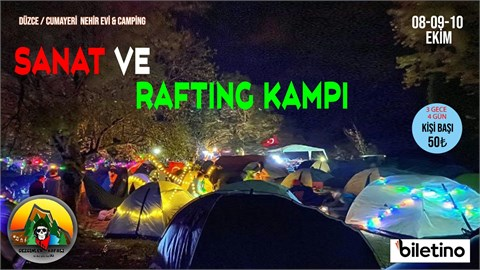 Gezginler Kafası Dj Festivali 4.büyük Düzce Çadır Kampı