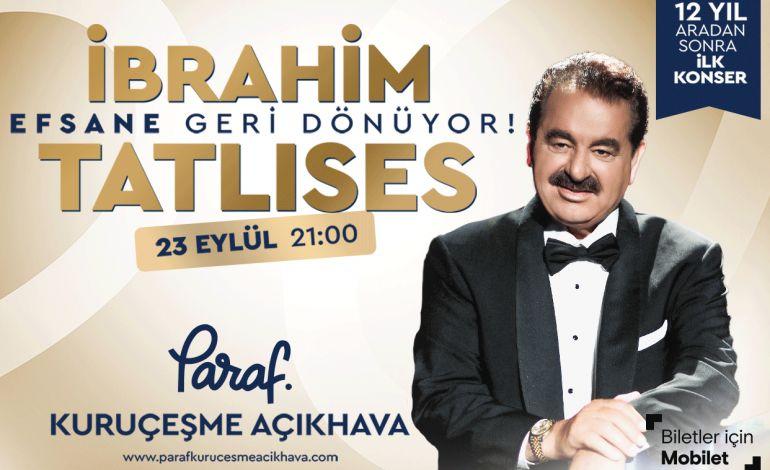 İbrahim Tatlıses - Konser Parti - istanbul.net.tr, Kültür Sanat  Etkinlikleri, Konser Tiyatro İstanbul Şehir Rehberi