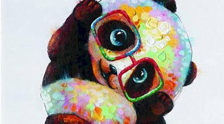 Masterpiece Galata Resim - Panda
