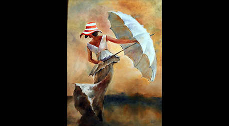 Masterpiece Galata Resim - Rüzgara