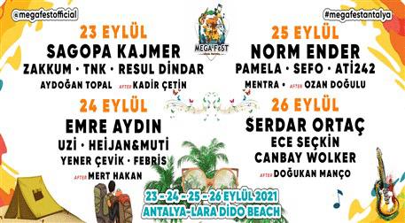 Mega Fest Kombine + Kamp
