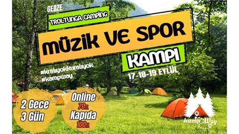 Müzik ve Spor Festivali | KampWay