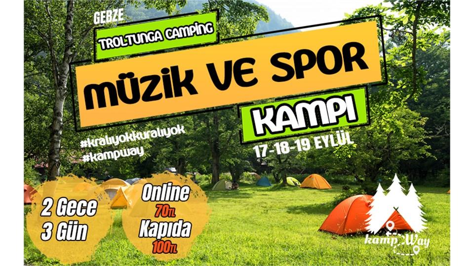 Müzik ve Spor Festivali   KampWay