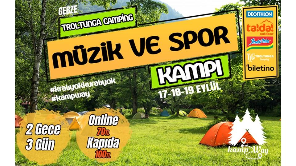 Müzik ve Spor Kampı | KampWay