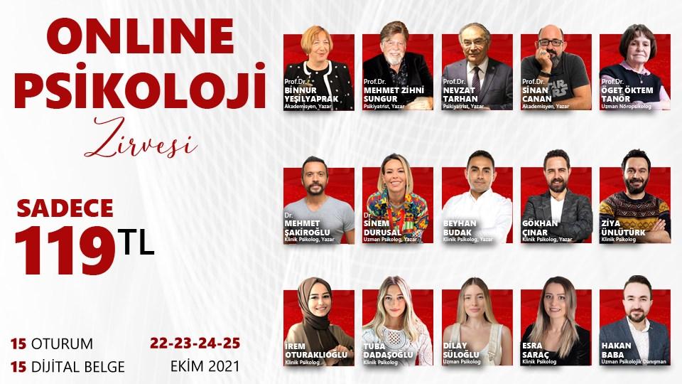 ONLINE PSİKOLOJİ ZİRVESİ / 22-23-24-25 Ekim
