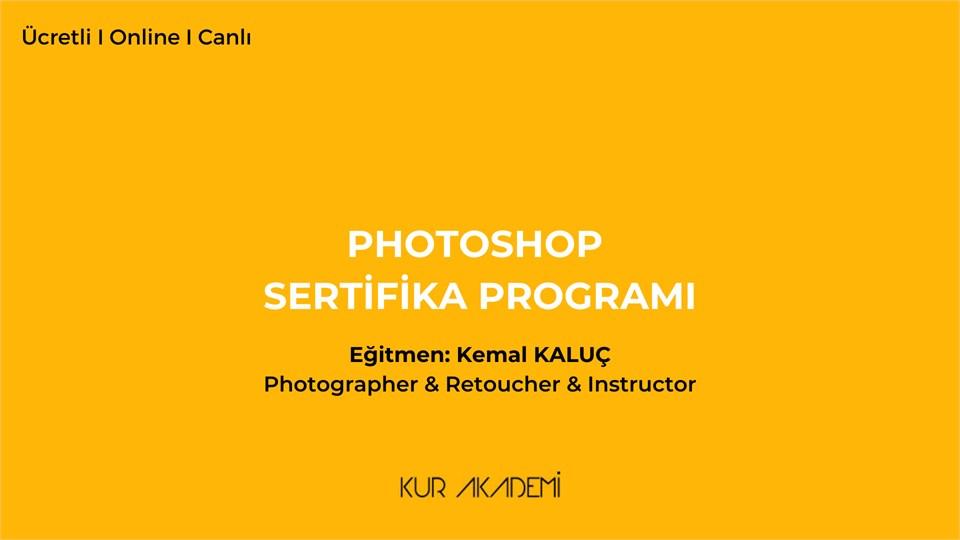 Photoshop Sertifika Programı