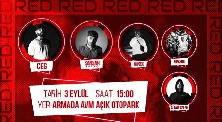Red Şenlik;Ceg,Sansar Salvo,Hypzex