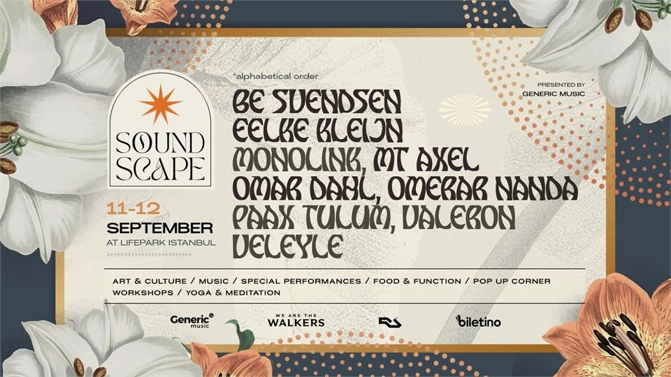 SOUNDSCAPE Festival w/ Monolink + Be Svendsen & More
