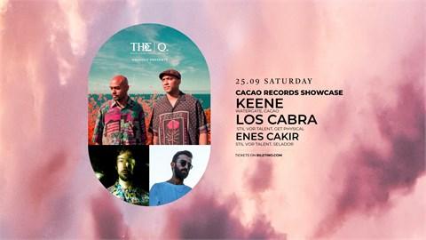 The Q Proudly Presents   KEENE - LOS CABRA - ENES ÇAKIR