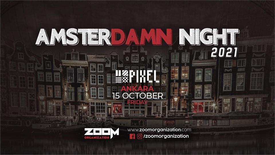 Amsterdamn Night PIXEL ANKARA