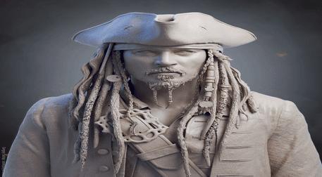 Heykel Workshop - Jack Sparrow