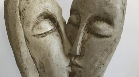 Masterpiece Ankara Heykel - Kiss