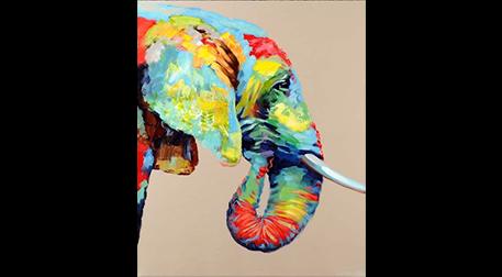 Masterpiece Resim Kiti - Fil