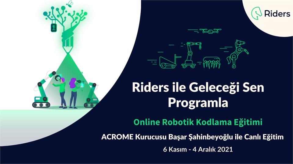 Riders Online Canlı Robotik Kodlama Eğitimi