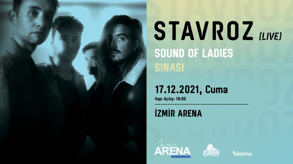 Stavroz - Sound Of Ladies - Sinasi @ İzmir Arena