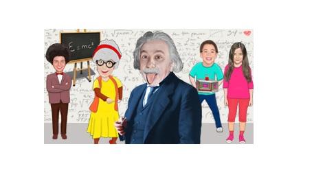 Zaman Makinesi 2- Albert Einstein