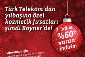 Boyner Mağazaları'ndan Türk Telekom Müşterilerine Özel Fırsat