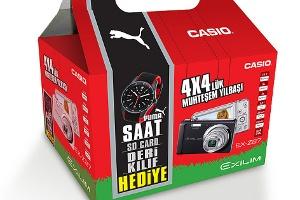 Casio'dan Dört Dörtlük Yılbaşı Kampanyası
