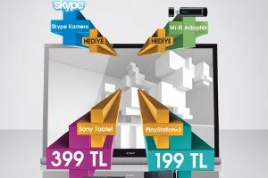 Sony TV`nin Artıları Şimdi Çok Daha Fazla