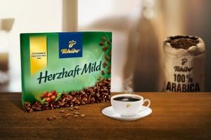 Tchibo'dan Dolgun Aromalı ve Yumuşak İçimli Yepyeni Bir Kahve: Herzhaft Mild
