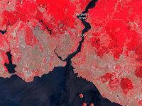 İstanbul`un 36 Yıllık Genişlemesi NASA Fotoğraflarında