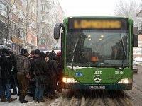 Kar Nedeniyle Otobüs ve Metro Seferleri Arttırıldı