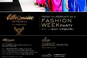 Billionaire Fashion Week Party